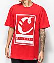 Cookies Alumni Hall Logo camiseta roja