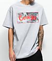Cookies Black Smoke camiseta en gris jaspeada