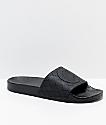Cookies Burn Rubber Black Slide Sandals