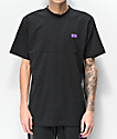 Cookies Emerald Triangle Charcoal Short Sleeve Knit Shirt