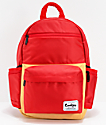 Cookies Fundamental Smell Proof Red & Tan Backpack