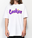 Cookies Hardwood Flava White T-Shirt