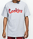 Cookies Horizon Thin Mint Logo Grey T-Shirt