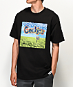 Cookies Keep Off The Grass Black T-Shirt