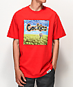 Cookies Keep Off The Grass Red T-Shirt
