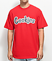 Cookies On The Gouch Red T-Shirt