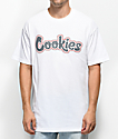 Cookies On The Gouch camiseta blanca