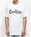 Cookies On The Gouch camiseta blanca