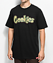 Cookies On The Gouch camiseta negra