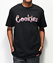 Cookies Peruvian Logo Black T-Shirt