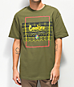 Cookies Tahoe Box Olive T-Shirt