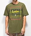 Cookies Tahoe Box camiseta oliva