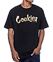 Cookies Thin Mint Filled camiseta negra