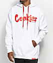 Cookies Thin Mint White & Red Hoodie