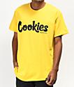 Cookies Thin Mint camiseta amarilla