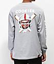 Cookies x Chucky Helmet Grey Long Sleeve T-Shirt