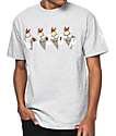 Cookies x Wizop 4 Tha Hard Way Grey T-Shirt