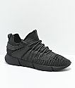 Cortica Infinity 1 All Black Knit Shoes