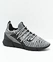 Cortica Rapide 118 zapatos de punto en gris y blanco