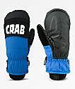 Crab Grab Punch mitones de snowboard en negro y azul