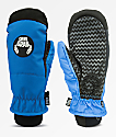 Crab Grab Slush Blue Snowboard Mittens