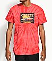 Create Lambo Red Tie Dye T-Shirt