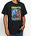 Create Manatee VS Macaw Black T-Shirt