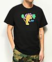Create Miami Manatee Black T-Shirt