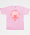 Crooks & Castles Bandusa Pink T-Shirt