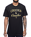 Crooks & Castles Timeless Black T-Shirt