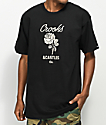 Crooks & Castles Rose Black & Cream T-Shirt