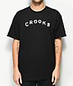 Crooks & Castles Sin Black T-Shirt