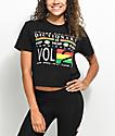 Cross Colours Hip Hop Dictionary camiseta corta negra