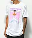 Cross Colours Left Eye Shooter camiseta blanca
