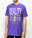 Cross Colours Reality Purple T-Shirt