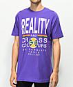 Cross Colours Reality camiseta morada