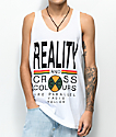 Cross Colours Reality camiseta sin mangas blanca