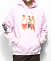 Cross Colours TLC Boxing Pink Hoodie