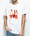 Cross Colours TLC Boxing White T-Shirt
