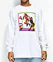 Cross Colours TLC Jump White Long Sleeve T-Shirt