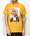 Cross Colours Too Short Yellow T-Shirt