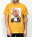Cross Colours Too Short camiseta amarilla