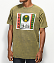 Cross Colours Ya Dig Label camiseta verde