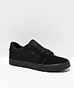 DC Anvil TX SE All Black Skate Shoes