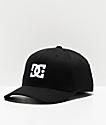 DC Cap Star 2 Black FlexFit Hat