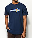 DC Cornered Blue T-Shirt