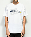DC Declined camiseta blanca
