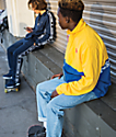 DC Denhill Blue & Yellow Jacket