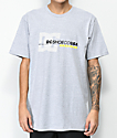 DC Laced Break Grey T-Shirt