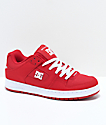 DC Manteca TC XE Red & White Skate Shoes